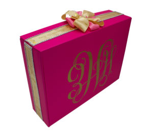 Customized heirloom boxes to hold treasured family memories.