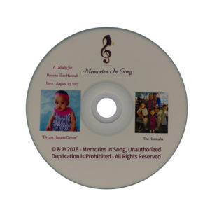 CD song lullaby for newborn babies