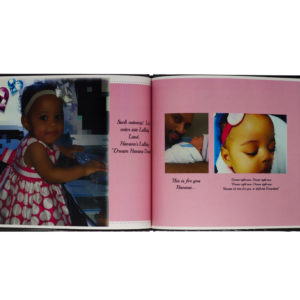Customized baby photo albums for girls in Richmond, VA
